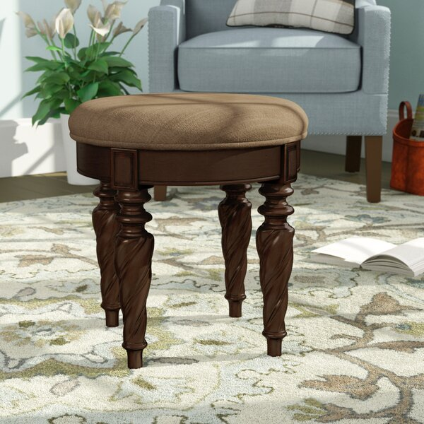 Kate Vanity Stool by Astoria Grand
