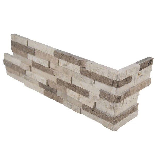 Colorado Canyon 6 x 18 Marble Splitface Tile in Beige by MSI