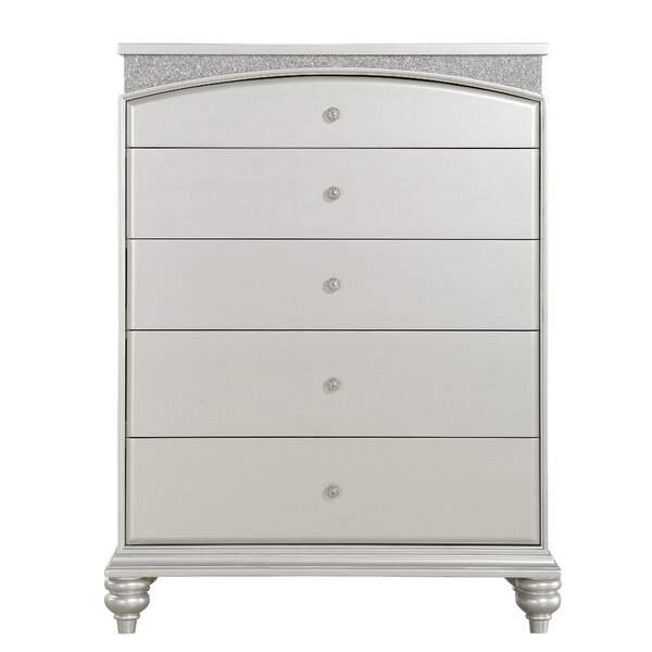 Dorland 5 Drawer Chest by House of Hampton