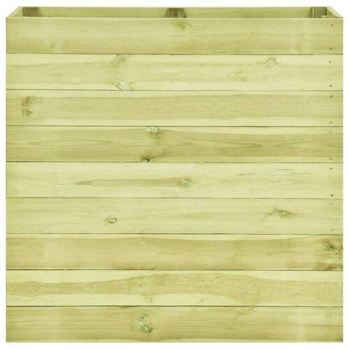 Haltwhistle Wood Planter Box August Grove