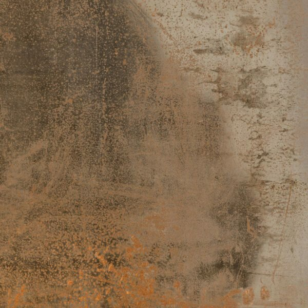 Aegean Magma 18 x 18 Porcelain Field Tile in Copper by QDI Surfaces
