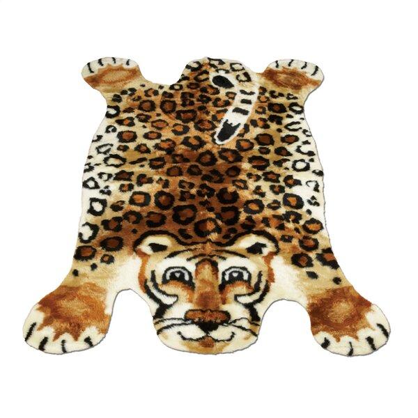 Leopard Kids Rug by Walk On Me