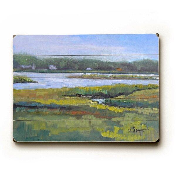 Waterway Painting Print Multi-Piece Image on Wood by Artehouse LLC
