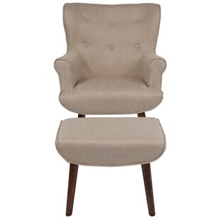 Affordable Price John Wingback Chair By George Oliver
