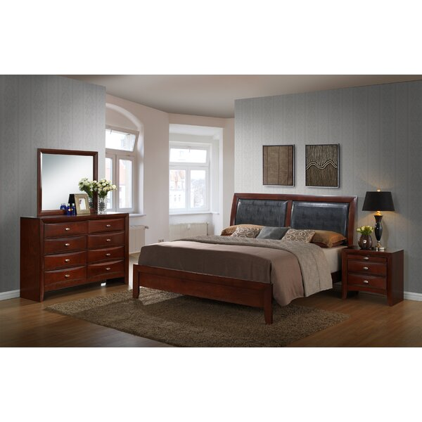 Alidge Standard 4 Piece Bedroom Set by Grovelane Teen