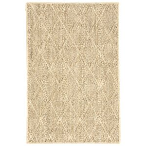 Sisal Diamond Sand Area Rug