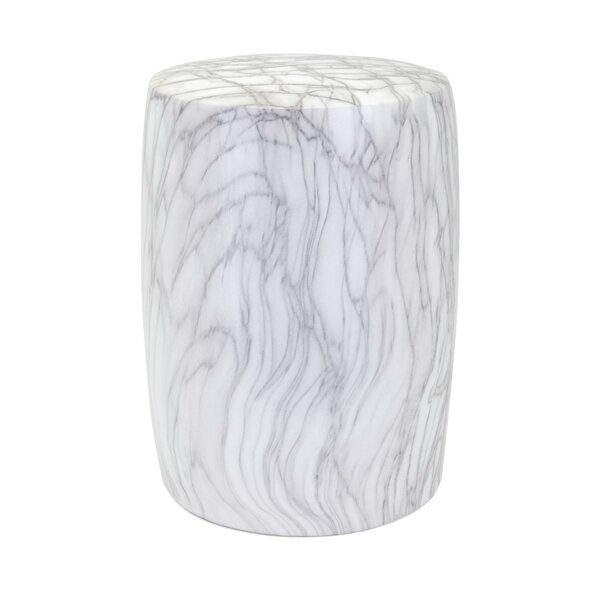 Wawona Ceramic Cylindrical Garden Stool by Mercer41 Mercer41