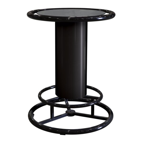 Pub Table - Black by Iowa Rotocast Plastics