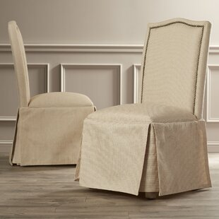 Alison Skirted Parson Chair (Set of 2) Alcott Hill
