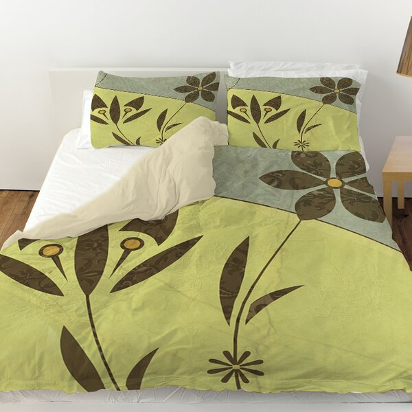 Graphic Garden Selene Duvet Cover by Manual Woodworkers & Weavers
