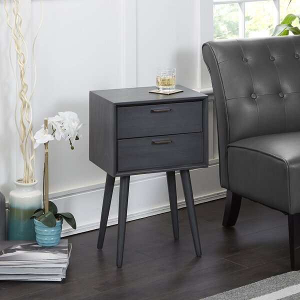 Brenner End Table With Storage By Union Rustic