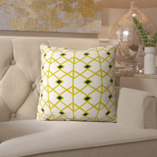 Spence Citron Indoor/outdoor Throw Pillow by Ivy Bronx