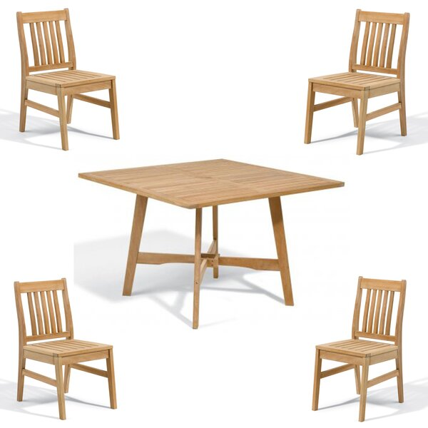 Moseley 5 Piece Dining Set by Rosecliff Heights