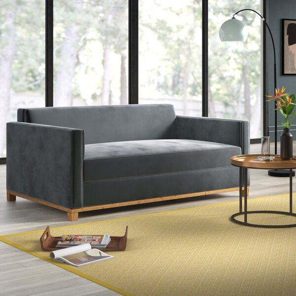 Best Price Mansfield Plush Deep Sofa by Mercury Row by Mercury Row