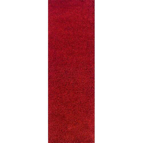 Zaria Red Rug Zipcode Design Rug Size: Runner 67 x 220cm