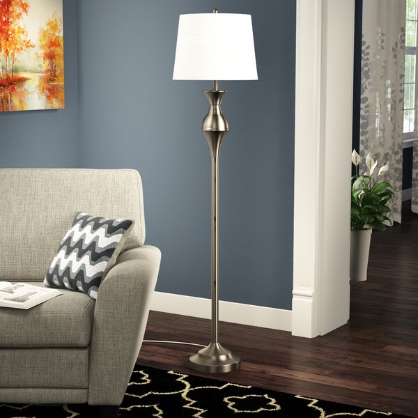 Carisbrooke 60 Floor Lamp by Charlton Home