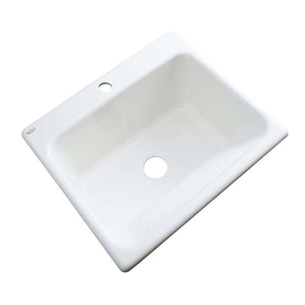Savannah 25 x 22 Drop-In Service Sink by Solidcast
