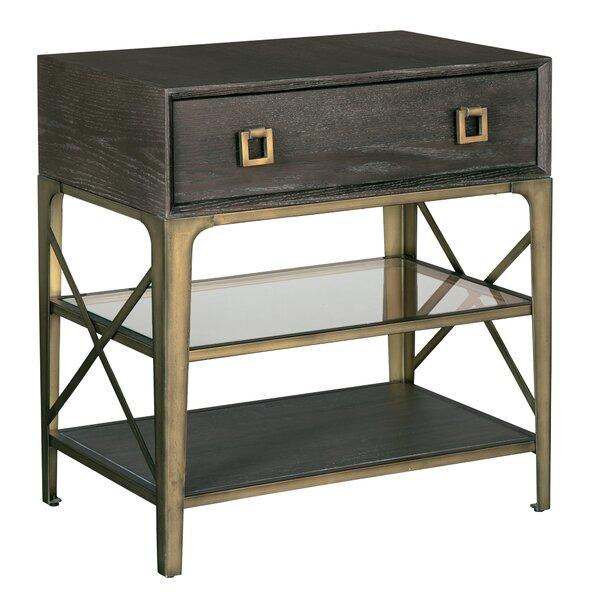 Parkhurst 1 Drawer Nightstand by Brayden Studio