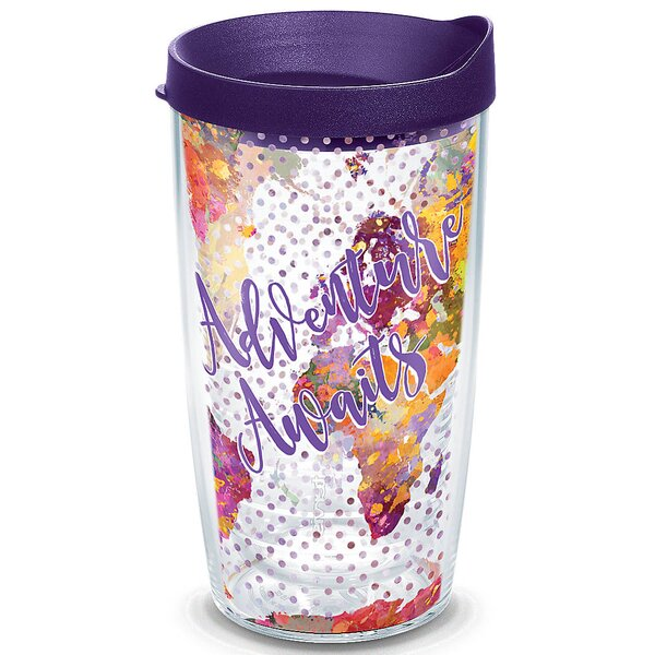 On Trend Adventure Awaits Plastic Travel Tumbler by Tervis Tumbler