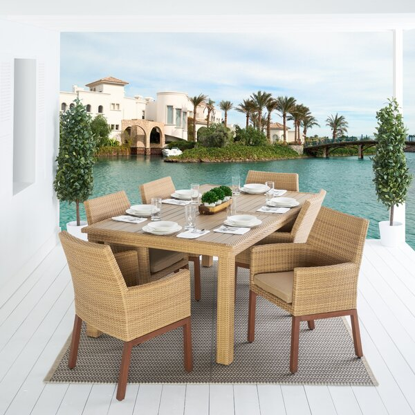 Addison 7 Piece Dining Set by Bayou Breeze