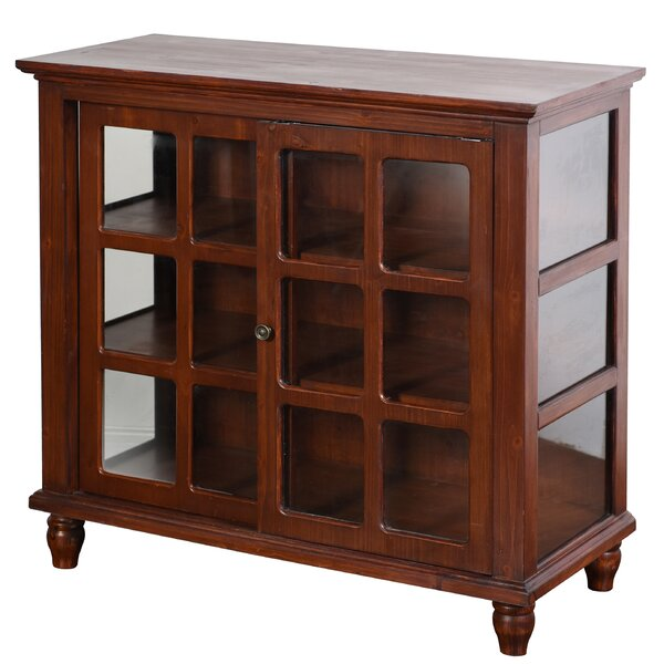 Archer Sliding 2 Door Accent Cabinet by August Grove August Grove