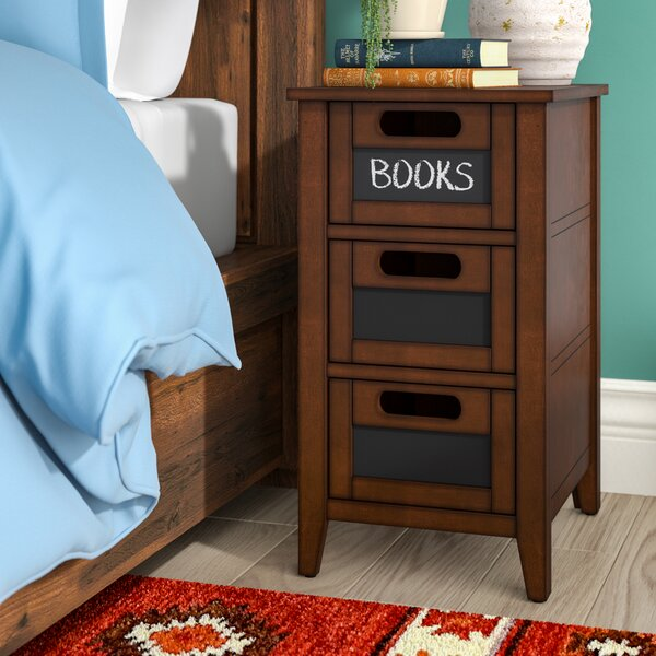 Kato End Table With Storage By Loon Peak