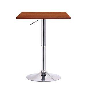 Luta Adjustable Height Pub Table by Boraam Industries Inc