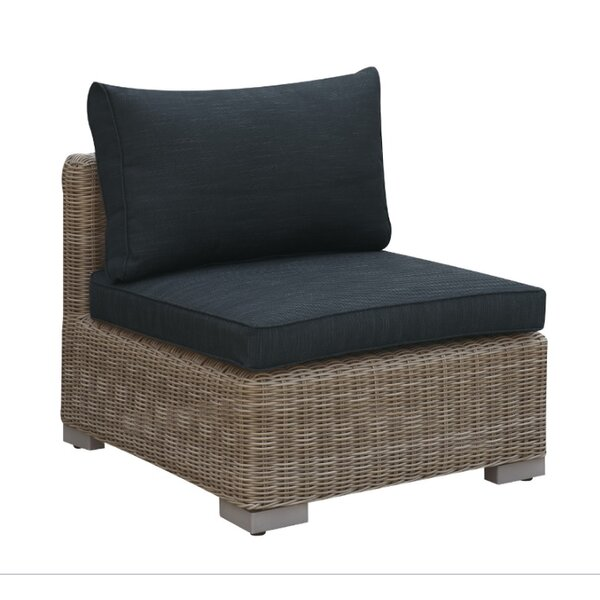 Harvey Outdoor Armless Chair with Cushion by A&J Homes Studio