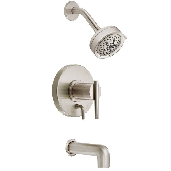 Parma Diverter Tub and Shower Faucet Trim with Lever Handle by Danze®