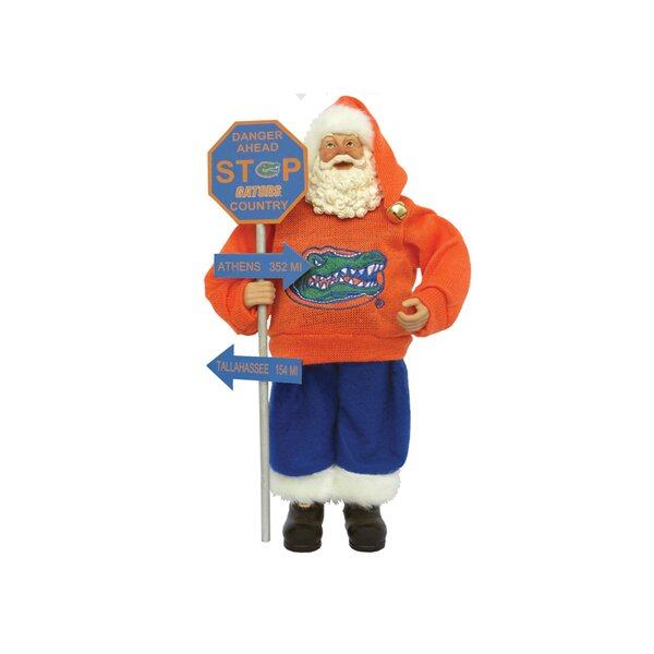 NCAA Country Claus Figurine by Santa's Workshop