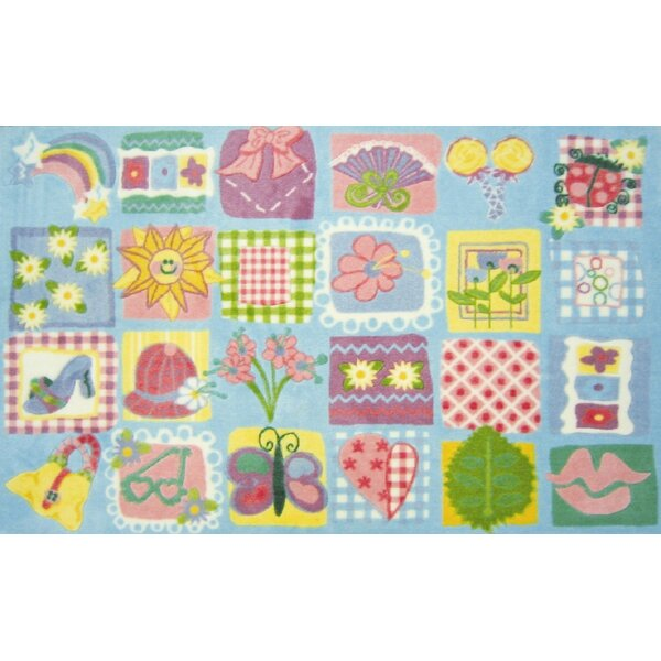 Supreme Funky Patchwork Girls Area Rug by Fun Rugs