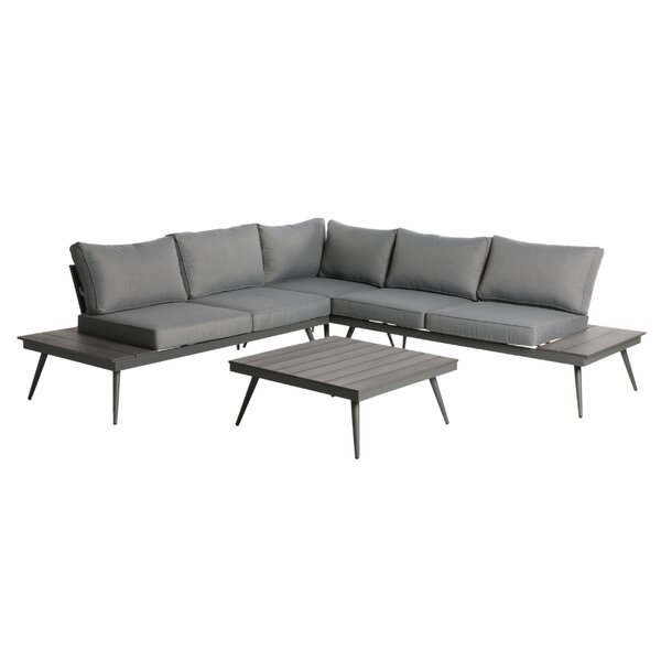 Beyonce 2 Piece Sectional Set with Cushions by Langley Street