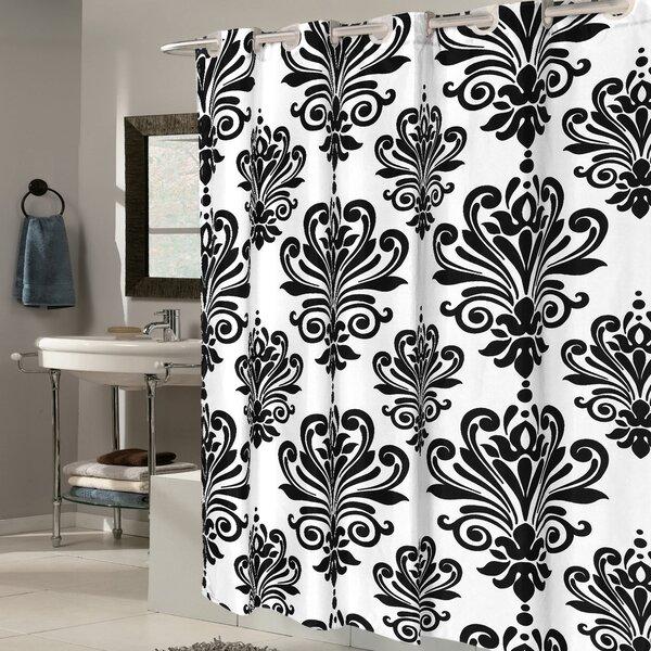 Fleur De Lis EVA Shower Curtain by Sweet Home Collection