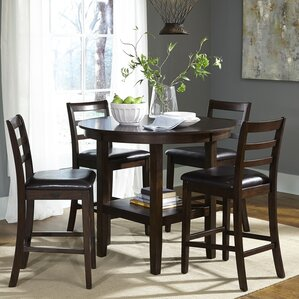 High Dining Room Chairs Beauteous Counter Height Dining Sets You'll Love  Wayfair 2017