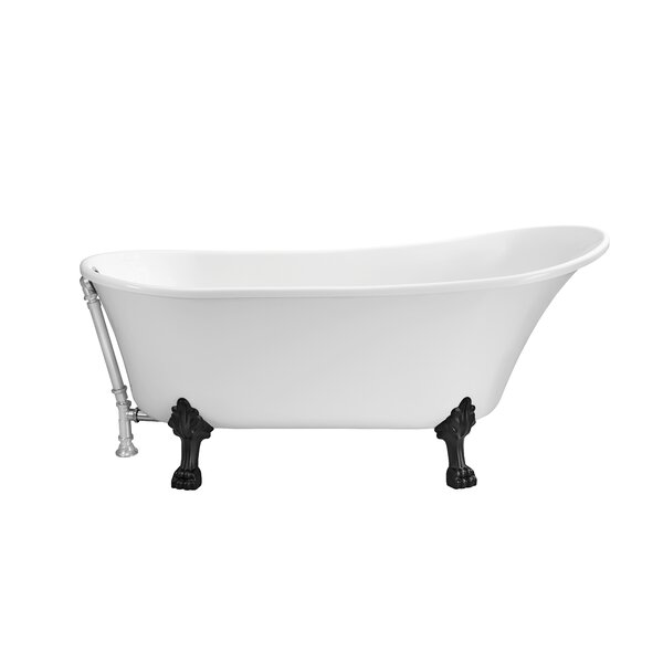 67 x 31.5 Freestanding Soaking Bathtub by Wildon Home ®
