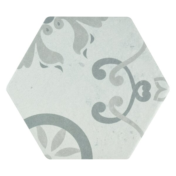 Hara Hex 5.88 x 6.75 Porcelain Field Tile in Trium by EliteTile