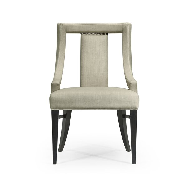Belgravia Upholstered Dining Chair by Jonathan Charles Fine Furniture Jonathan Charles Fine Furniture