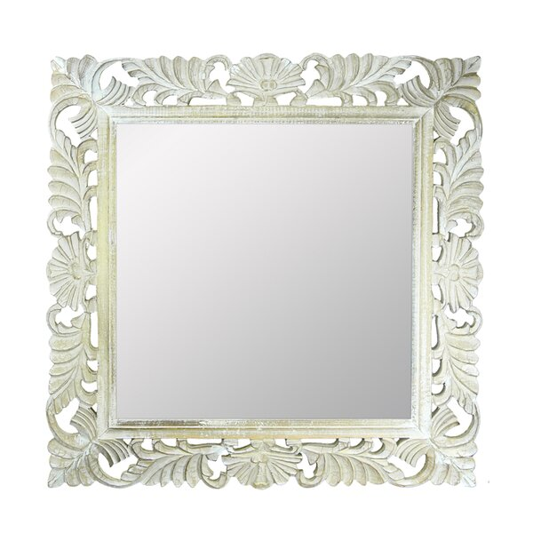 Brunoy Wooden Accent Mirror by One Allium Way