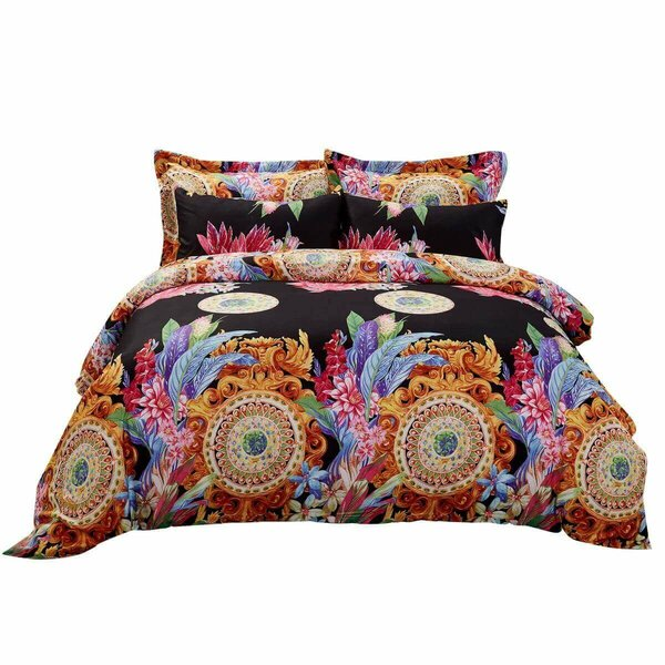 Cagle Floral Bedding Reversible Duvet Cover Set