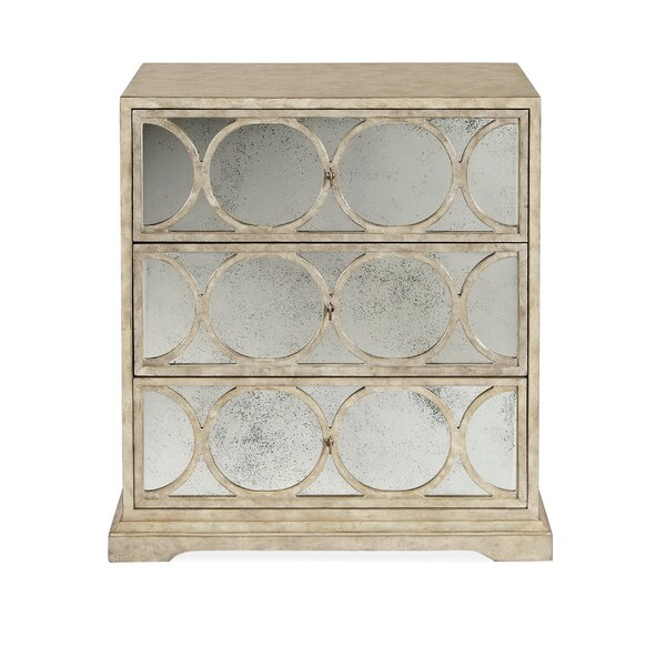 Ellery 3 Drawer Nightstand by Bernhardt Bernhardt