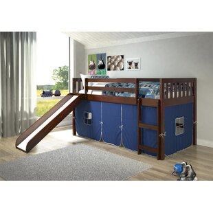 Great choice Selzer Mission Twin Low Loft Bed ByViv + Rae