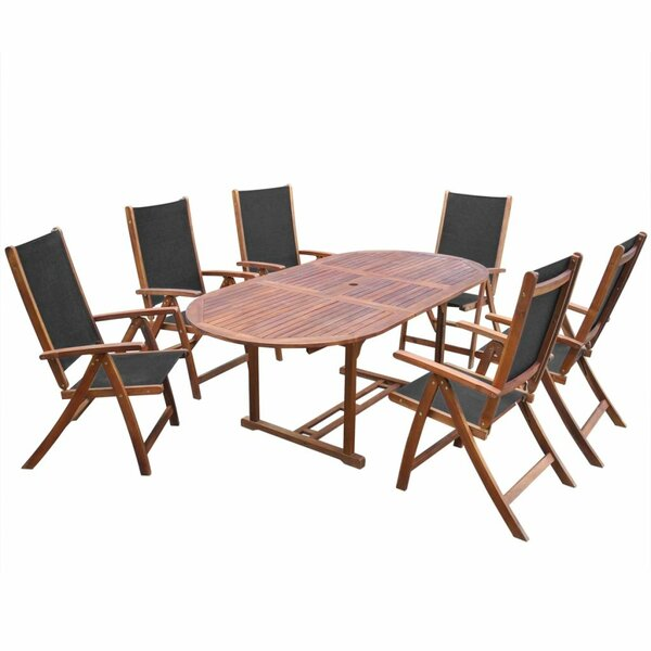 Knutsen 7 Piece Dining Set by Union Rustic