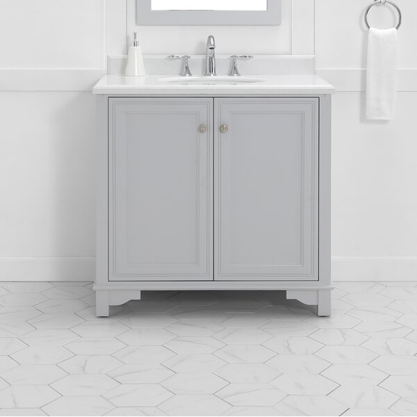 Pledger 36 Single Bathroom Vanity Set by Charlton Home
