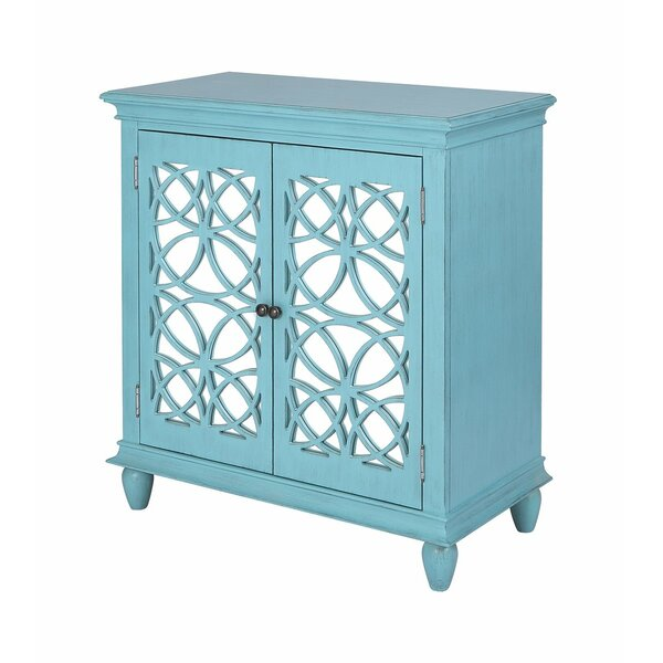 Mirasol Cabinet In Long Beach Blue by Bloomsbury Market Bloomsbury Market