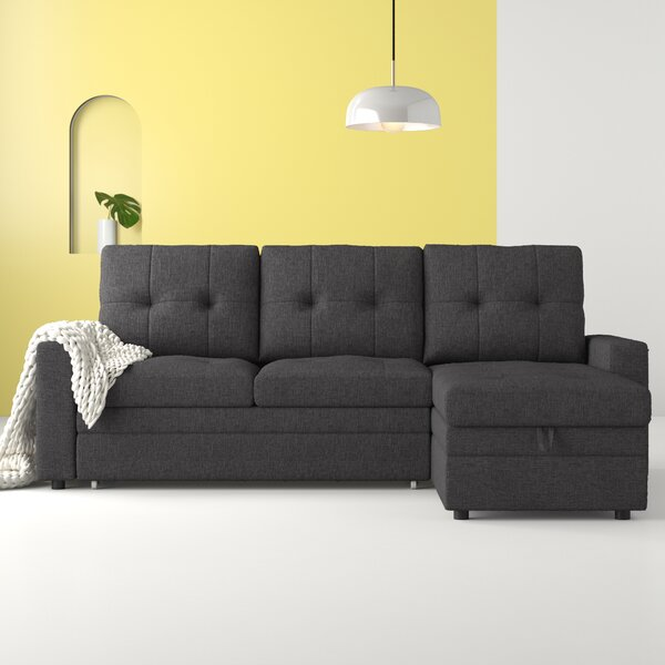 #1 Inessa Reversible Sleeper Sectional By Hashtag Home