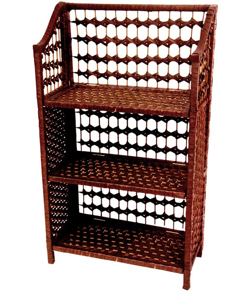 Rattan Standard Bookcase by Oriental Furniture