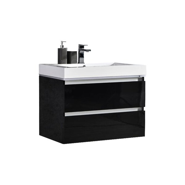 Pegram 24 Single Sink Bathroom Vanity Set by Orren Ellis