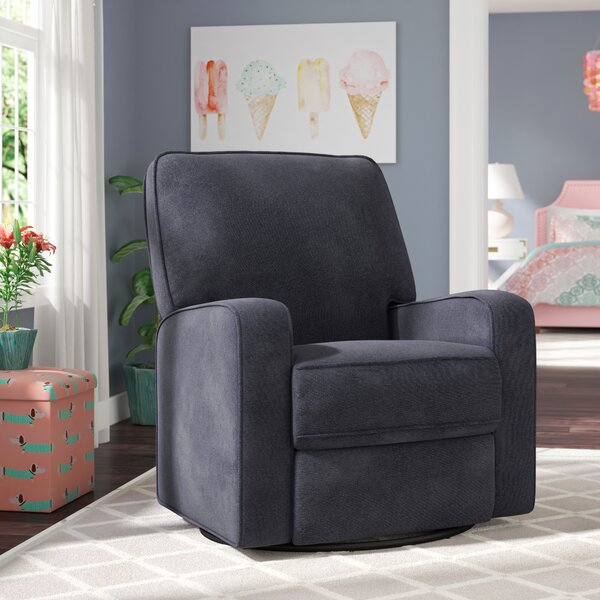 Cookson Upholstered Reclining Glider By Harriet Bee