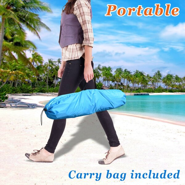 Easy Up Pop Up Beach 2 Person Tent Canopy Sun Shelter by Strong Camel