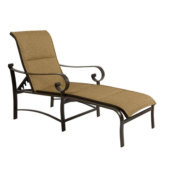 Belden Chaise Lounge by Woodard